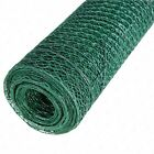Pvc Coated Green Chicken Rabbit Wire 10m 5m 2 Widths Mesh Aviary Fencing Garden
