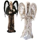 Внешний вид - Angel of Death Scary Halloween Prop Grim Reaper 6 ft Outdoor Decoration