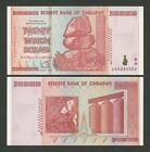 ZIMBABWE - Select from: $100 trillion/billion/million - Uncirculated - Banknotes