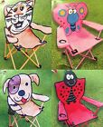 New Kids Club Outdoor Children's Camping Armchair Fold-Up Chair