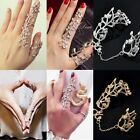MIDI Rings Multiple Finger Stack Knuckle Band Crystal Set Womens Jewelry 1pc
