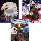 """Brand New Artists Eagles 79"""" x 95"""" Super Plush Faux Mink Blanket - In 3 Styles"""
