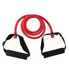 Latex Tube Resistance Bands Workout Yoga Fitness Gym Pilates Stretch Exercise