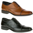 Mens Hush Puppies Evan Maddow Smart Formal Oxford Plain Toe Shoes Sizes 7 to 12