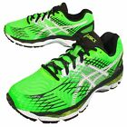Asics Gel-Nimbus 17 2E Wide Green Black Mens Running Shoes T508N-8501