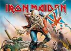 Iron Maiden Poster Trooper Number Of The Beast Eddie Textile Flag 75cm x 110cm