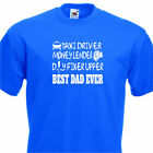 Taxi driver Dad, Fathers day gift, Birthday Presant, Funny Men's T-shirt, daddy