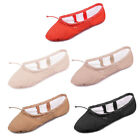 Cavans Ballet Dance Shoes Spilt Sole Belly Ballet Shoes For Dance Girls  Women