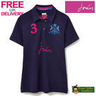 Joules Beaufort Ladies Polo Shirt (T) **BNWT** **FREE UK Shipping**