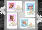 Baby Photo thank you cards (3A - 3D) Postcard or folded  - Birth or Christening