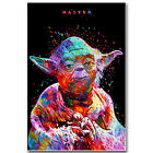 Yoda Star Wars Classic Movie Silk Posters Art Prints 12x18 24x36 inch Home Decor $5.83 CAD