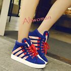 Women's High Top Athletic Sport Shoes Dance Trainer Boots Fashion Sneakers Shoes