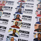 2016 Fantasy Football Draft Kit - COLOR Labels LARGE Board NFL