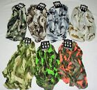 Camo Infinity Scarves seven colors