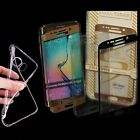 9H Glasfolie Panzerglas Folie Full 3D Curved ►Samsung Galaxy S6 Edge◄Hülle 4free