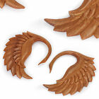 CYGNET SWAN Red Saba Wood Organic Body Jewelry - 3mm-12mm - Price Per 1 on eBay