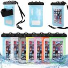 Waterproof Armband Hot Pouch Bag Case Cover For Cell Phone iPhone 5 6 Samsung