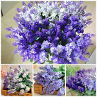 Artificial Lavender Fake Flower Bush Bouquet Home Wedding Party Garden Decor New