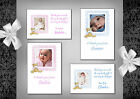 Baby Photo thank you cards x10 (47A - 47D) Postcard or folded,