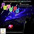 Anself 2016 Euro Cup Sports Fans Noisemakers LED Light Up Whistle Party Nic D8L4