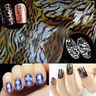 Nail Art Water Transfer Stickers Wraps Foils Decal Tips Leopard Decoration Nice