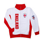 Mens England Sweat Top Jogging Sports Sweater Zip Up Sweatshirt England Top