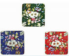 William Kilburn 4 Piece Floral Renaissance Drinks Coaster Set NOW REDUCED