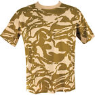 NEW Kombat High Quality Military 100% Cotton Desert Camo Patterned T-Shirt