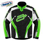 ARCTIVA Men's Green & Black COMP 7 INSULATED Winter Snowmobile Jacket