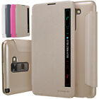 For LG Stylus 2 /LS775 /K520 /F720 Flip Folio Quick View Smart Case Skin Cover