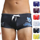 Sexy Mens Surf Board Swim Trunks Swimming Bathing Boxer Brief Beach Pants Shorts