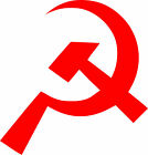 Hammer and Sickle Vinyl Sticker Decal Communist Socialism Russian Soviet USSR