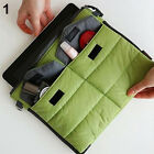 Stylish Portable Carry Storage Nylon Bag Zip Organizer Case for iPad Tablet