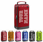 Personalised Sports Shoe Bag with Carry Handle Football Rugby Boot Golf Bowling