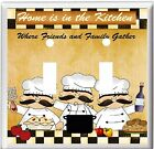 FAT CHEFS HOME IS IN THE KITCHEN   LIGHT SWITCH COVER PLATE HOME DECOR