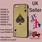 Ace Of Spades Retro Vintage Playing Card Iphone Case Phone Cover