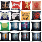 Game Of Thrones Family Badge Cotton Linen Pillow Cases Sofa Cushion Covers