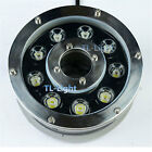 6W 9W 12W LED Spot Light Fountain Pool Pond Lake RGB Lamp Underwater IP68 12V