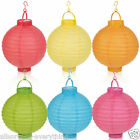 3 x Hanging Chinese LED Light Paper Lantern Party Wedding Decoration Lamp Shade