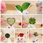 50pcs  Tree Birthday Cake Bunting Banner Topper Flags Party Baby Shower PicksLAU