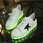 Popular lighted shoes for adults light sneakers designer flashing luminous shoes