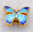 10x16mm cloisonne beads butterfly Jewelry accessories gifts #11