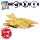 NATURAL PEANUT BUTTER FLAVOURED RAWHIDE CHIPS HEALTHY GOURMET PET DOG TREAT DOG