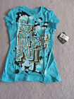 House of Dereon by Beyonce Women's Blue T-Shirt NWT
