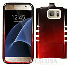 KoolKase Hybrid Silicone Cover Case for Samsung Galaxy S7 Edge - Red (TN)