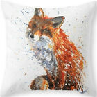 Inspirstion Word Beach Fox Cotton Linen Pillow Cover Cushion Cover Pillow Case