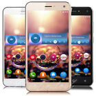 "Cheap Unlocked 5"" Android 5.1 Mobile Smart Phone Quad Core Dual SIM WiFi GPS 3G"