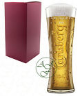 Personalised 1 Pint CARLSBERG Branded Beer Glass Fathers Day Gift