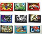 Kids Children Boys Cartoon Character Purse WalletCoin PurseMario Batman Gifts