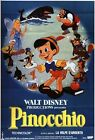Vintage French Pinocchio Movie Poster A3/A2/A1 Print